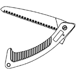 ARS Straight Saw Line Drawing Thumbnail